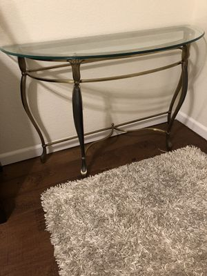 Nice glass table! for Sale in Fresno, CA