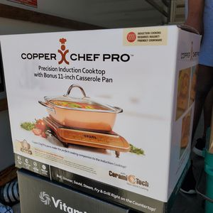 Copper chef pro induction cook top great condition for Sale in Orlando, FL