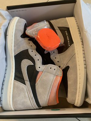 Nike Air Jordan 1 Retro Grey Crimson size 9 DS for Sale in Los Angeles, CA