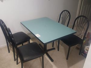 Nice restaurant tables and chairs.4 Set of 2 chairs and table and 4 set of 4 chairs and table. for Sale in Edison, NJ