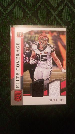Tyler Eiffert, 2018 Donruss Elite, Dual Patch for Sale in Bozeman, MT