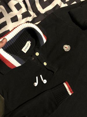 Vintage Moncler Sweater Xl fits like a large for Sale in Arlington, VA