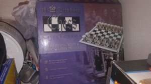 The drinkin chess collection. Glass playing board. 32 shot glasses for Sale in Salem, MA