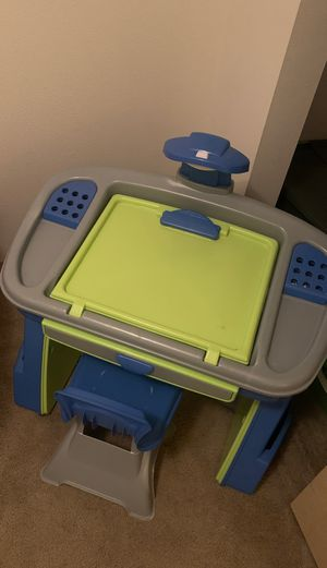 Kids play desk W/ Chair for Sale in Tacoma, WA