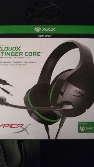 Hyper x stinger headset for Sale in Rosemead, CA