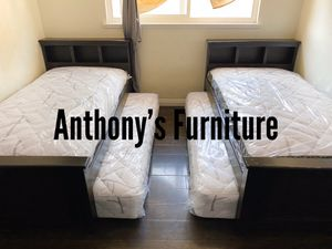 Twin bed & twin roll out mattress for Sale in Lynwood, CA
