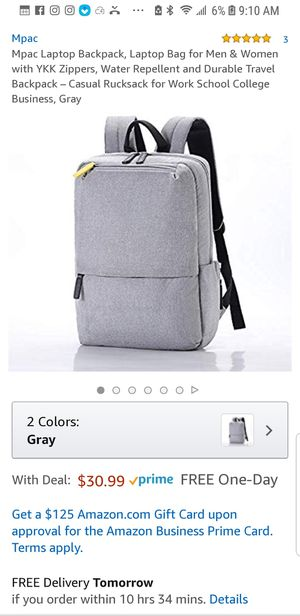 MPAC Laptop Backpack ( Brand New Never Used) for Sale in Chandler, AZ