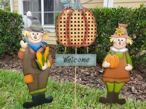 Outdoor Fall yard decorations for Sale in Tacoma, WA