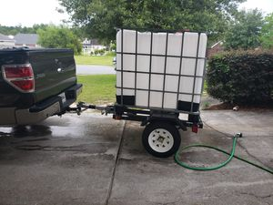 New trailer with water tank for Sale in Pooler, GA