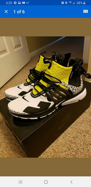 Nike Air Presto mid Acronym Brand new in box size 7 mens fit like 7.5 for Sale in Oceanside, CA