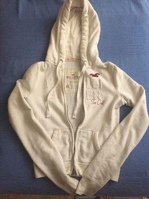 Hollister zip up hoodie jacket size XS for Sale in Herndon, VA