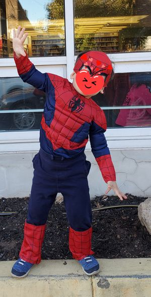 Spiderman costume for toddler for Sale in Fairview, NJ