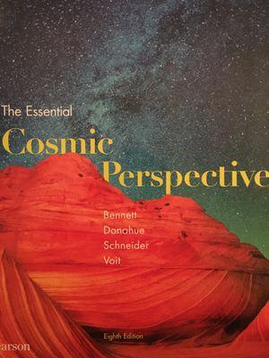 The essential cosmic perspective 8th edition for Sale in Peoria, IL