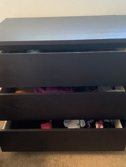 IKEA Malm 3 Drawers for Sale in Bellflower,  CA