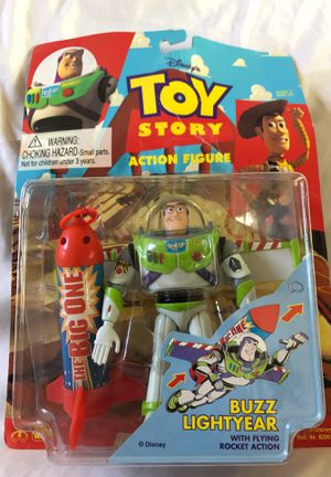 1995 Toy Story Buzz Lightyear Action Figure, Disney Toys for Sale in Romoland, CA