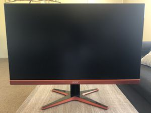 """Acer XG270HU 27"""" 1ms 144HZ 2560x1440 Gaming Monitor for Sale in Garden Grove, CA"""