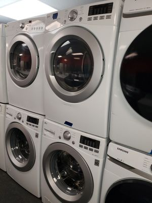 LG electric front load set washer and dryer in great condition for Sale in Randallstown, MD