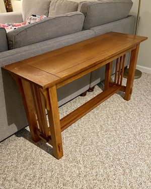 Console Table (solid wood) for Sale in Rockville, MD