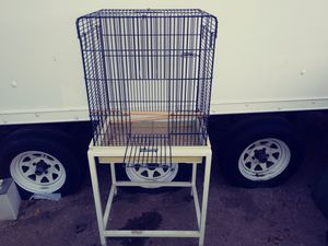 BIRD CAGE ON STAND for Sale in Palmdale, CA