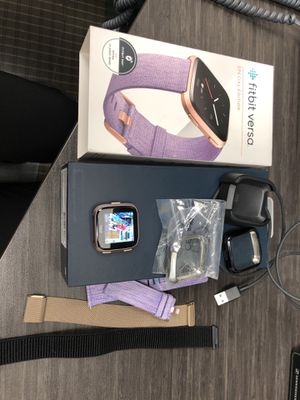 Fitbit versa special edition—make an offer! for Sale in West Palm Beach, FL