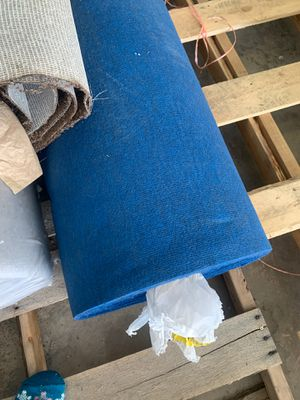True blue marine/boat carpet 6' wide cut to order for Sale in Tonto Basin, AZ