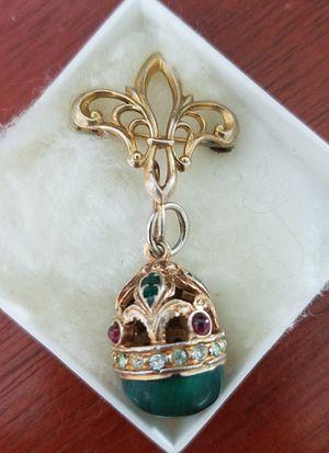 Faberge style egg pendant for Sale in Arlington, VA