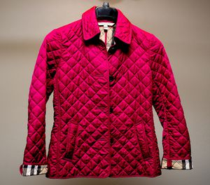 Burberry Brit Quilted Jacket - Dark Plum for Sale in San Diego, CA