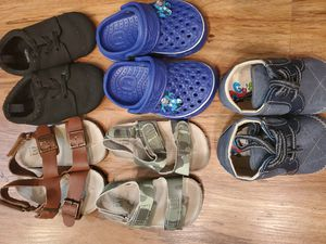 Baby Boy Shoe Lot 12-18 Months for Sale in Houston, TX