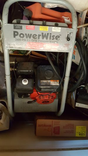powerwise 2400 pressure washer $100 for Sale in San Diego, CA