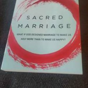 """Book """"Sacred Marriage"""" by Gary Thomas for Sale in Vancouver, WA"""