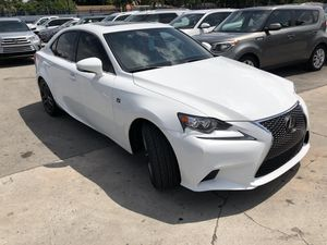 2016 Lexus IS 200t f sport package red interior for Sale in Miami, FL
