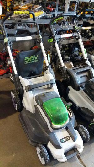 Ego 20-inch 56-volt lithium-ion cordless lawn mower for Sale in Phoenix, AZ