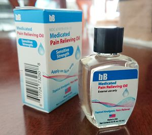 bB Medicated pain relieving oil for Sale in Midway City, CA