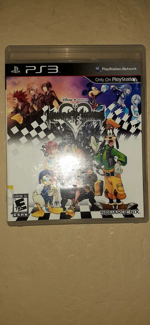 PS3 Kingdom Hearts 1.5 Remix for Sale in Buckeye, AZ