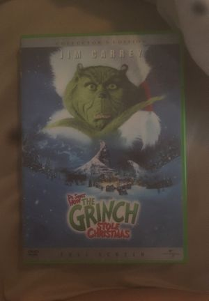 Dr. Seuss' The Grinch Stole Christmas DVD for Sale in Hudson, FL