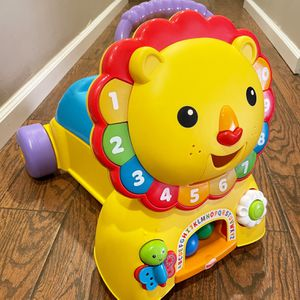 Like New Fisher-Price 3-in-1 Sit, Stride & Ride Lion for Sale in Fort Lauderdale, FL