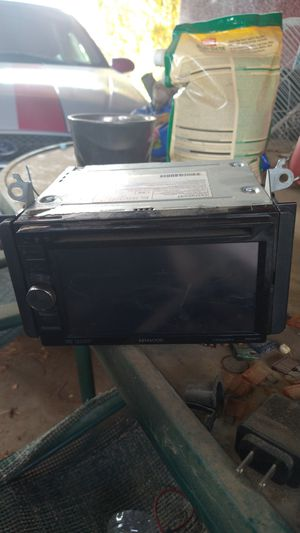 Kenwood double din for Sale in Madera, CA