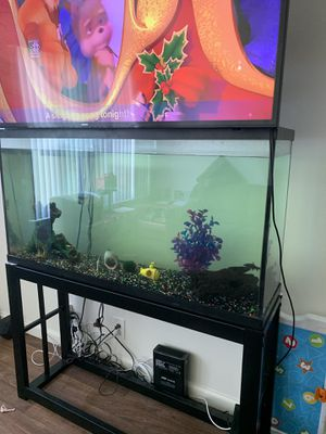 Fish tank ,stand etc. for Sale in San Diego, CA