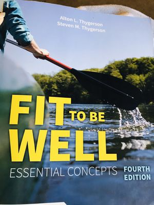 Fit To be Well Textbook for Sale in Holtville, CA