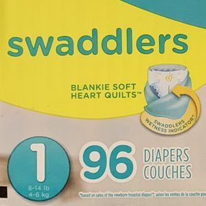 "Pampers Swaddlers Size 1 96 Count ""Super Pack"" for Sale in Kirkland, WA"