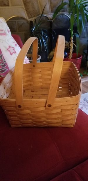 Longaberger Basket with handles for Sale in Beaver Falls, PA
