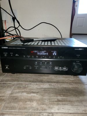 Yamaha RX-4761 Audio Receiver Black for Sale in Redding, CA