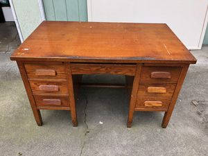 Solid wood desk for Sale in West Sacramento, CA