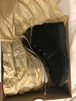 Black Ugg Sneaker Boots (Water resistant) sz. 5 for Sale in New York, NY