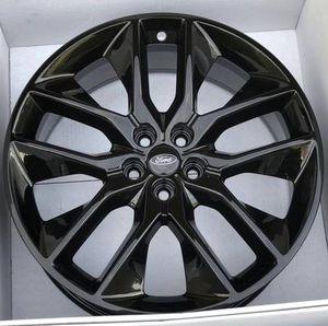 "20"" Ford Edge 2018 black new wheels rims for Sale in Riverside, CA"