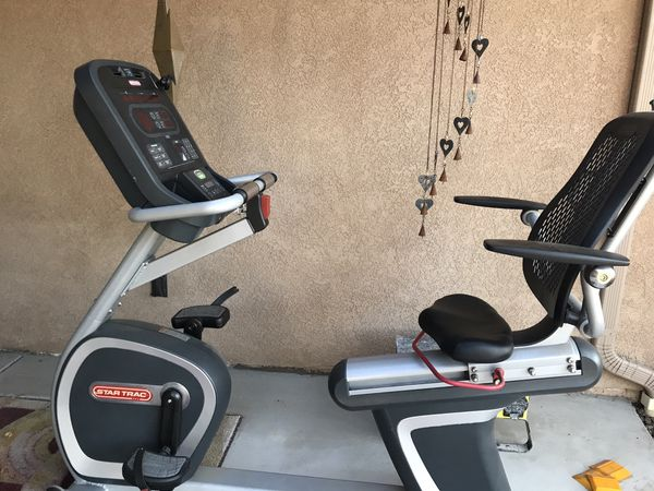 Commercial model Star Trac Recumbent bike used by one person not very often🥴