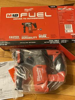 Milwaukee M18 Fuel 1-in SDS-plus Rotary Hammer for Sale in Severna Park,  MD