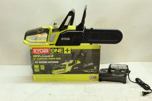 ONE+ Lithium+ 10 in. 18-Volt Lithium-Ion Cordless Chainsaw - 1.5 Ah Battery and Charger Included for Sale in Bakersfield, CA