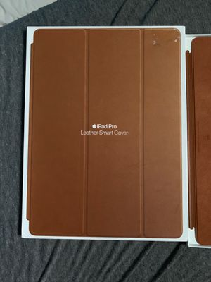IPAD PRO LEATHER SMART COVER 12.9 for Sale in Mobile, AL