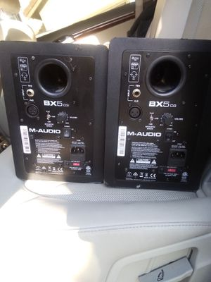 BX5 m-audio studio speakers for Sale in Fontana, CA